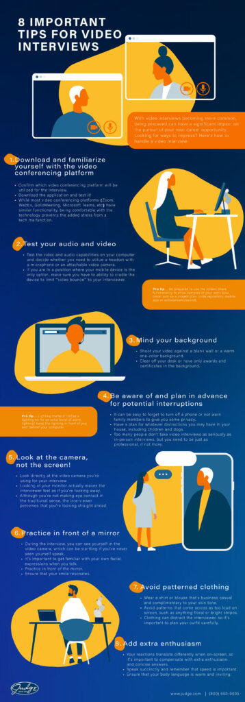Important Tips for Video Interviews